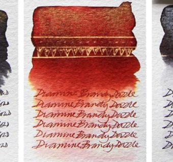 Ink color cards –  Tintenfarben