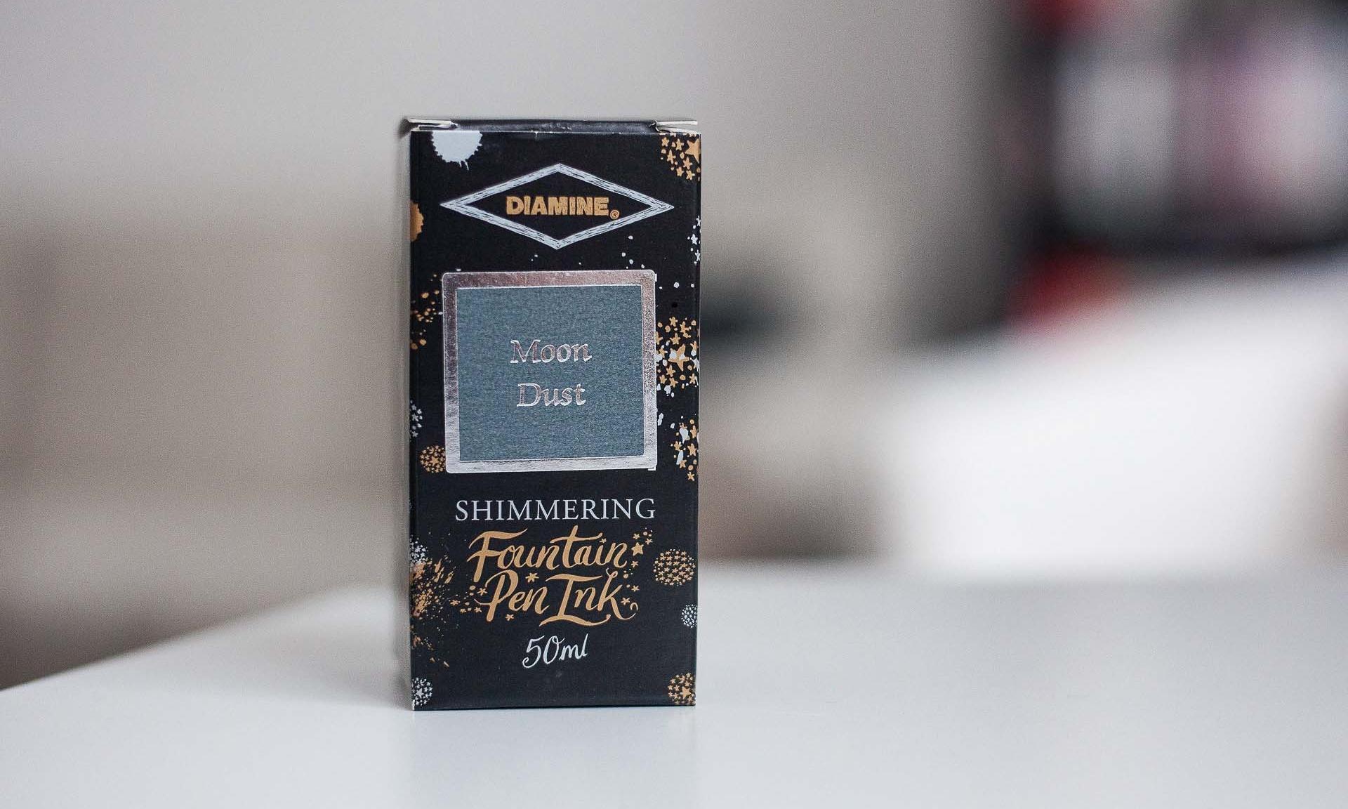 Tinte: Diamine Moon Dust (Shimmering Ink)