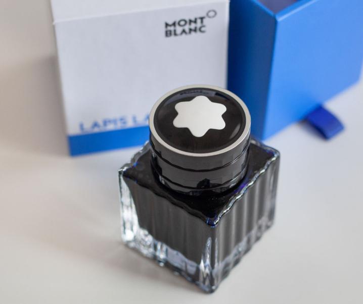 Tinte: Montblanc Lapis Lazuli