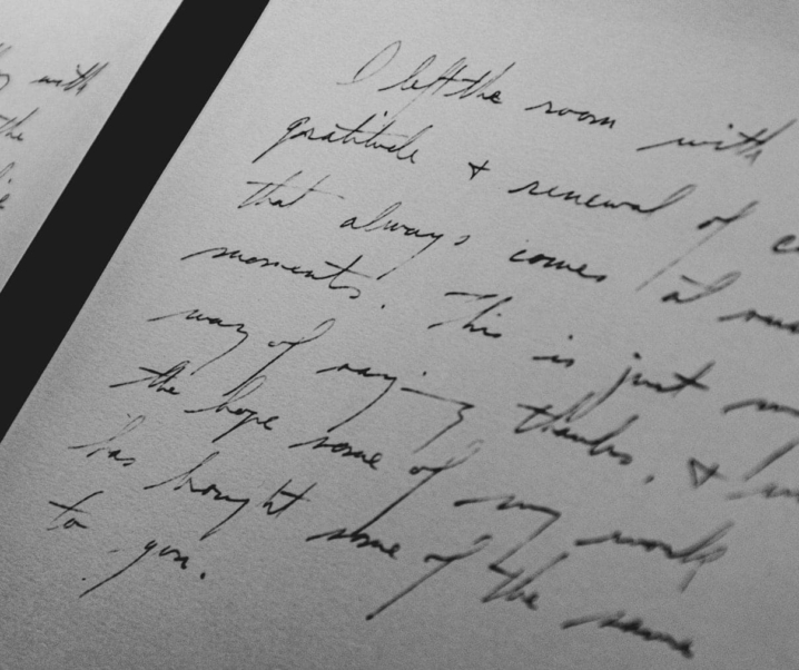 Persönlichen Brief schreiben: Was ein handgeschriebener Brief bewirken kann